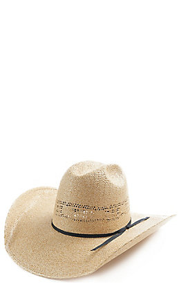 Rodeo King 25X Quenten Bangora Burlap Cutter Crown Hat