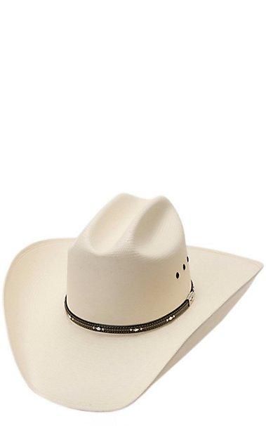 Resistol 10X George Strait Kingman Straw Cowboy Hat  39aeb2207a3