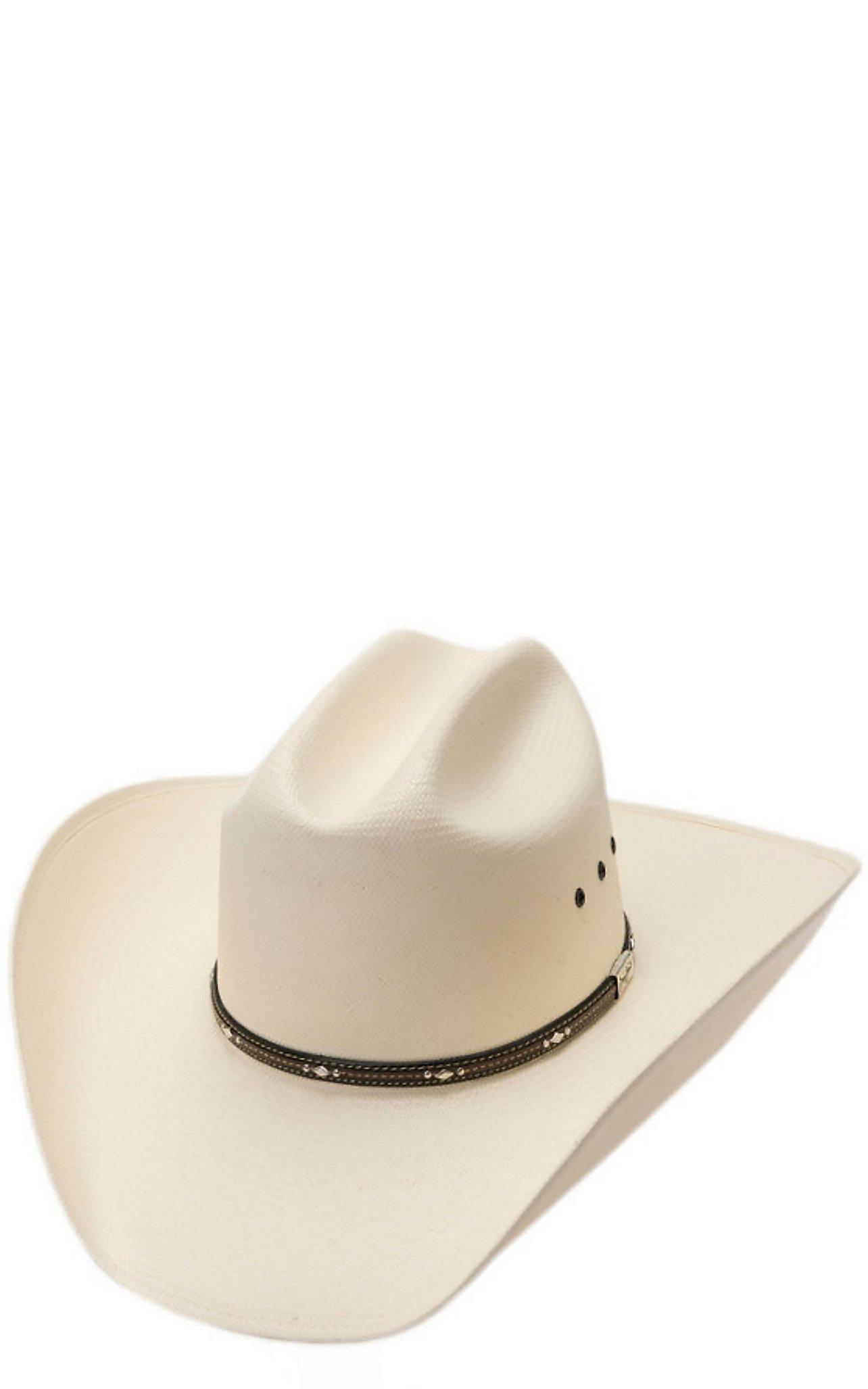Resistol 10X George Strait Kingman Straw Cowboy Hat  ff03f17b6bf