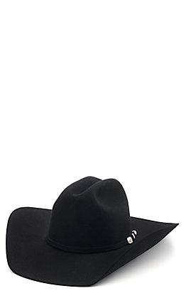 Resistol 6X Longacre Black Felt Cowboy Hat
