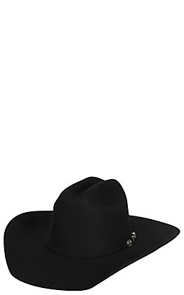 f1deb7e1e1c Resistol 6X Long Acre Black Felt Cowboy Hat
