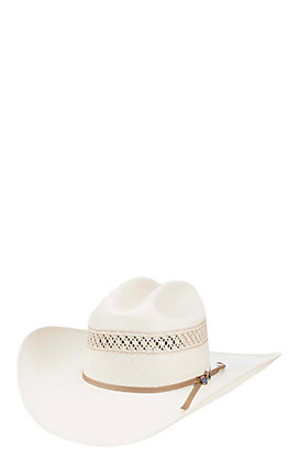 461186a72935e Resistol 10X Wildfire Two Tone Vented Straw Cowboy Hat