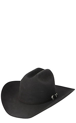 Resistol 5X The Challenger Black Felt Cowboy Hat