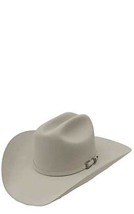 Resistol 5X The Challenger Silver Belly Felt Cowboy Hat