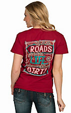 Girlie Girl Originals Women's Red Dirt Roads Short Sleeve Tee