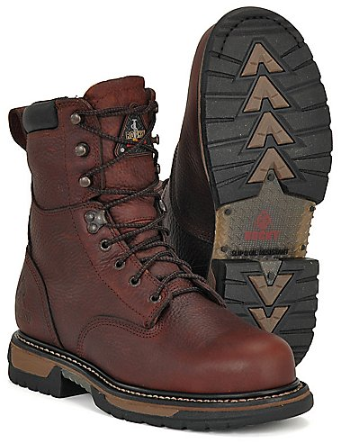 Rocky Boots Mens Iron Clad 8
