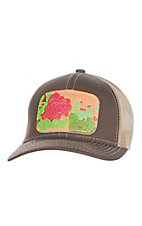 McIntire Saddlery Red Rose Cactus Cap