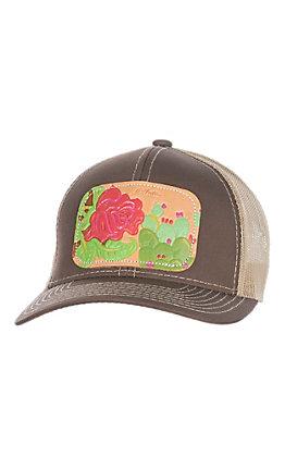 McIntire Saddlery Red Rose Cactus Cap