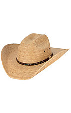 Cavenders 15X Toast Palm with Brown Band Cowboy Hat