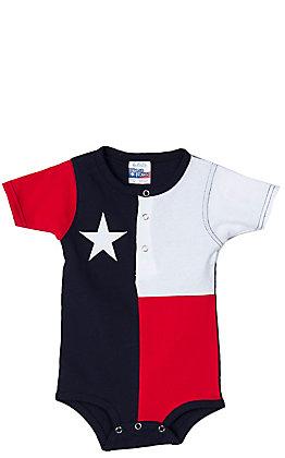 Texas Flag Baby Onesie RPTXONSIE