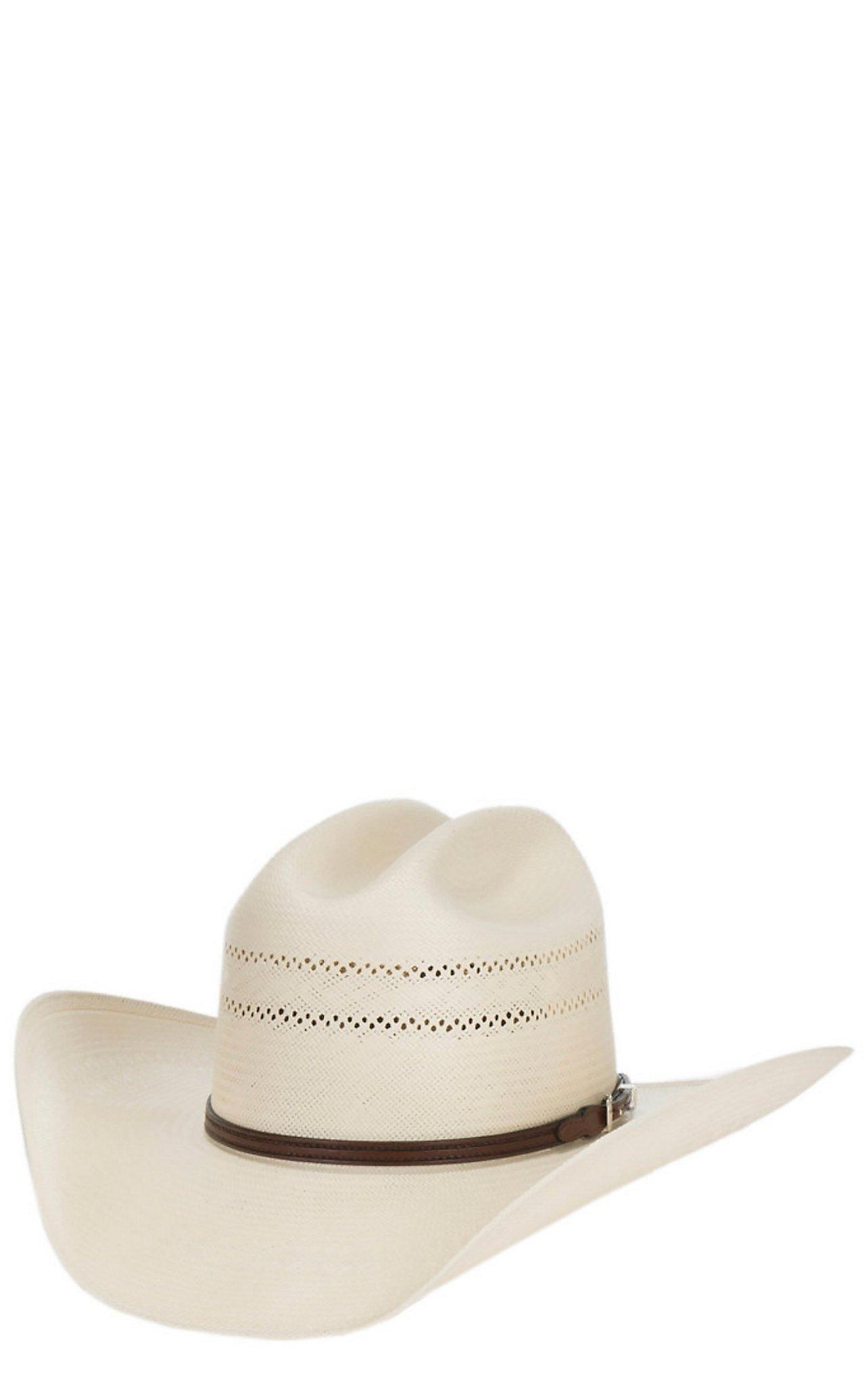 b6f13a123e1 Resistol 10X George Strait Collection Range Cattleman Crown Straw Hat