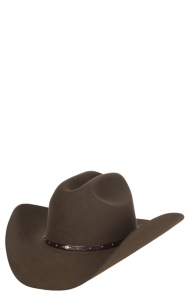 07e6f36800dbad Resistol 6X Brown Santa Clara Felt Cowboy Hat | Cavender's