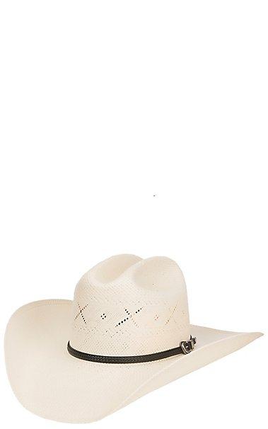 Resistol 20X George Strait All My Exes Straw Cowboy Hat  f096e9ae029
