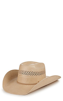 Resistol Cody Johnson Cojo Special Natural and Tan Ventilated Straw Hat
