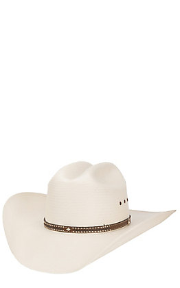 Resistol 8X George Strait Double Cross Straw Cowboy Hat