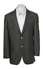 Red Sky Men's Charcoal Brown Blazer