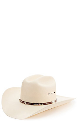 Resistol 10X George Strait Hazer Straw Cowboy Hat