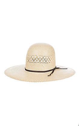 5978a736f5a0e Resistol 20X Two Tone Open Vented Crown Cowboy Hat