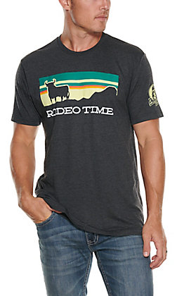Rodeo Time Dale Brisby Men's Rodeo Time Bull Patch T-Shirt