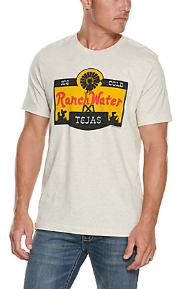 Tumbleweed Texstyles Men's Natural Ranch Water Short Sleeve T-Shirt