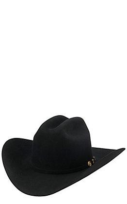 Stetson 100X El Presidente Black Felt Cowboy Hat