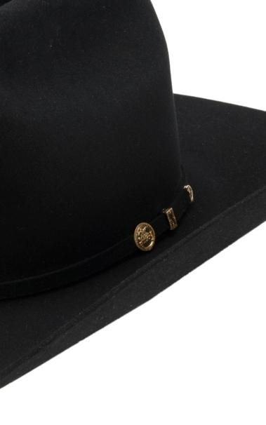 9925a5637223f Stetson 100X El Presidente Black Felt Cowboy Hat  7GgSi1207892  -  37.99