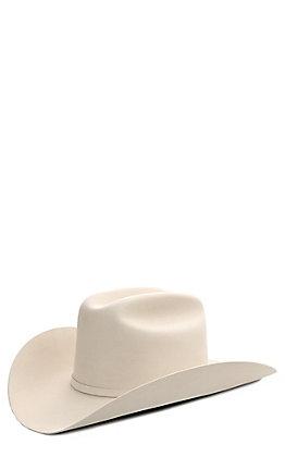 86280f430908a4 Stetson 100X El Presidente Silverbelly Felt Cowboy Hat
