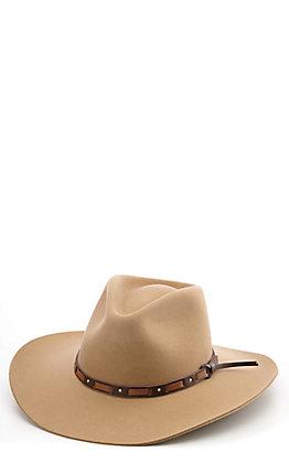 Stetson 3X Hutchins Stone Felt Cowboy Hat