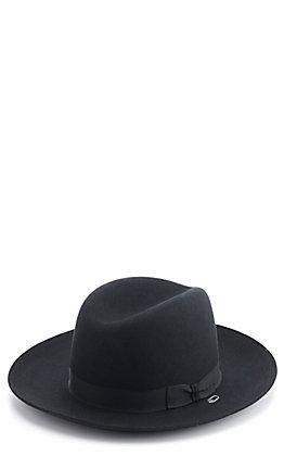 Stetson 5X Cavalry Black Felt Cowboy Hat