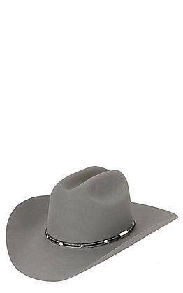 Stetson 6X Angus Granite Grey Felt Cowboy Hat