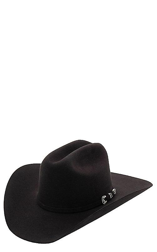 3db2a5467 Stetson 6X Skyline Black Felt Cowboy Hat
