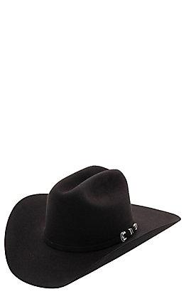 Stetson 6X Skyline Black Felt Cowboy Hat