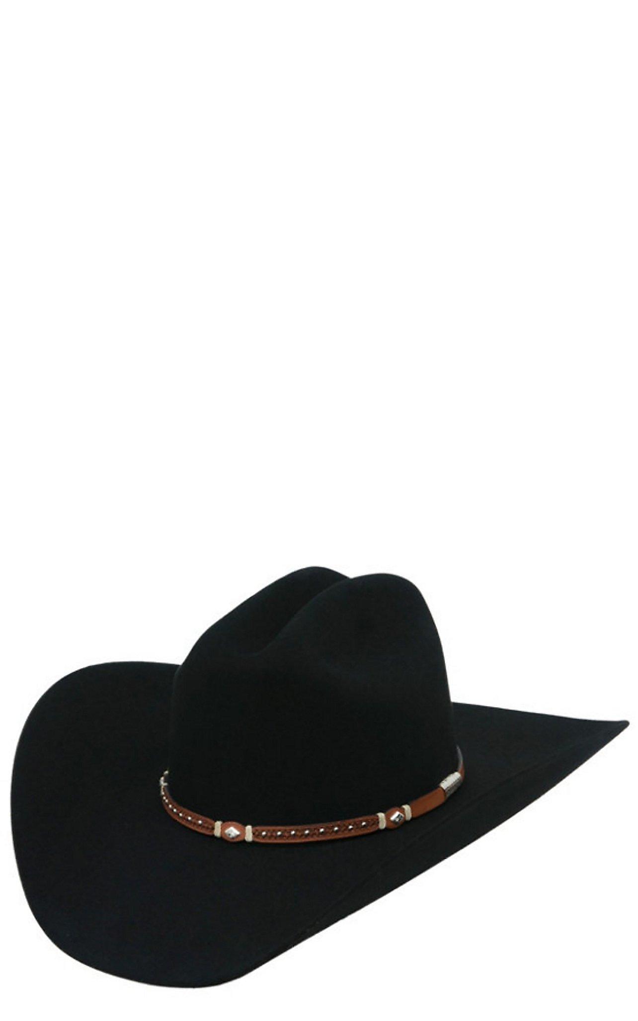 Stetson  Stetson 6X Monterrey T Black Felt Cowboy Hat 4794d904a91