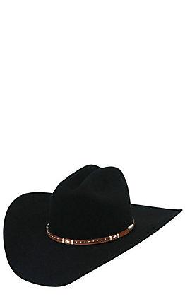 Stetson 6X Monterrey T Black Felt Cowboy Hat