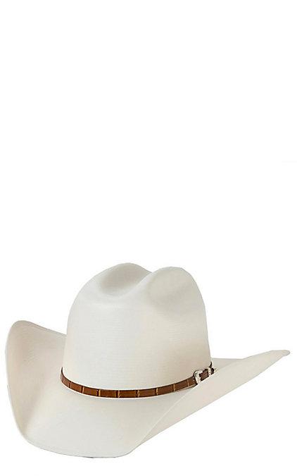 549297060 Stetson Stallion 100X Maximo Straw Cowboy Hat