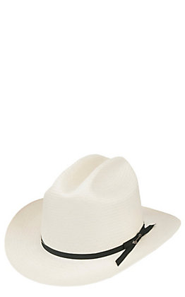 Stetson 6X Open Road Straw Cowboy Hat