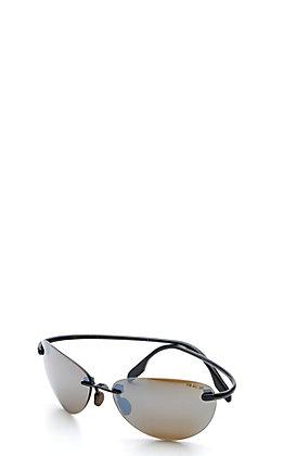 BEX Praahr Black/Brown Polarized Sunglasses