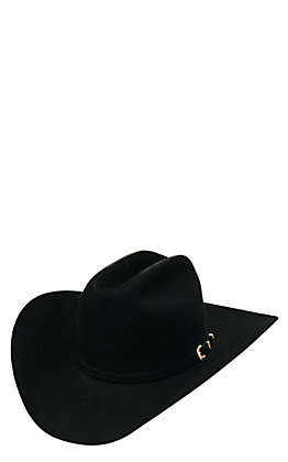 Stetson 30x El Patron Black Felt Cowboy Hat