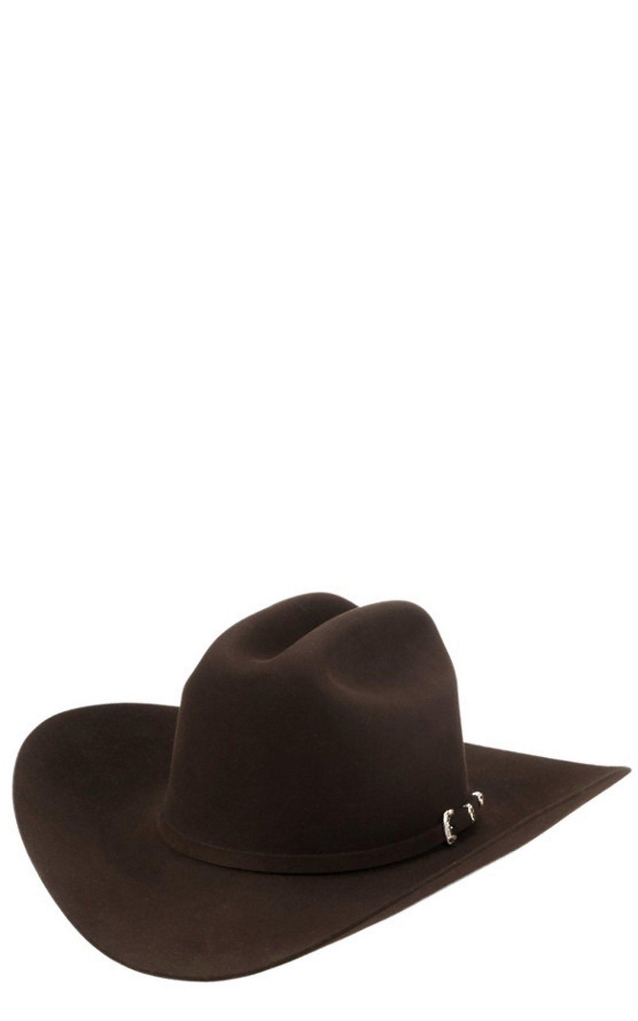 Stetson 30X El Patron Mocha Felt Cowboy Hat c3a88a86379