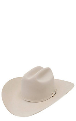 Stetson 30X El Patron Silver Belly Felt Cowboy Hat
