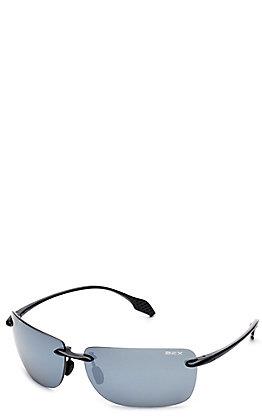 BEX Jaxyn XL Black and Grey Polarized Sunglasses
