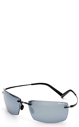 BEX Fynnland XL Black and Grey Polarized Sunglasses