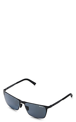 BEX Rockyt Black and Grey Polarized Sunglasses