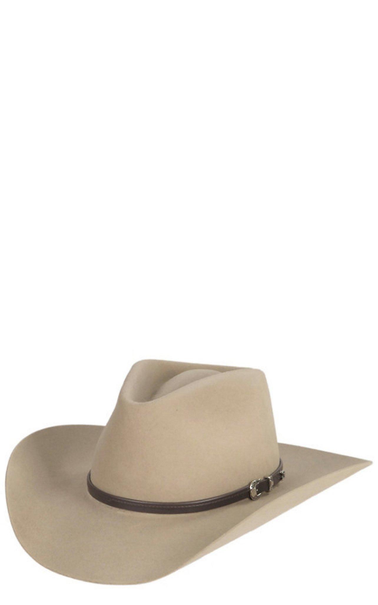 5fea191c610 Stetson 4X Seneca Silversand Buffalo Felt Cowboy Hat