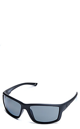 BEX Crevalle Matte Black and Live Gray Polarized Sunglasses