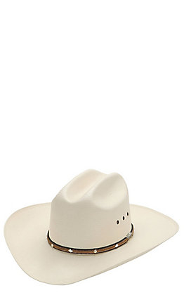 Stetson 10X Angus Straw Cowboy Hat