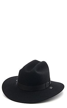 Stetson 5X Cavalry II Black Felt Cowboy Hat