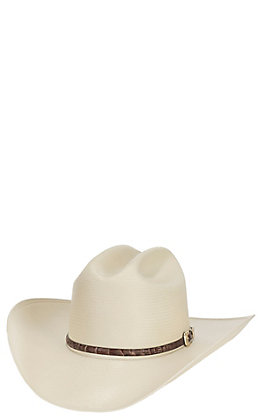 Stetson 10X Atrisco Natural Straw Cowboy Hat