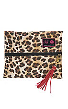 Makeup Junkie Savannah Leopard Small Makeup Bag