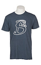 Stackin Bills Men's Navy Logo Outline Graphic S/S T-Shirt